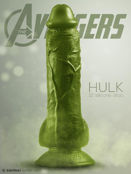 hulk vibrador